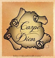#Carpe #Diem #tattoo