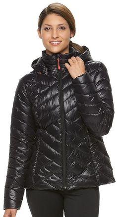 Women's Tek Gear® Hooded Packable Puffer Jacket