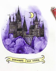 My home - Harry Potter potter drawing Hogwarts Harry Potter Tumblr, Theme Harry Potter, Harry Potter Drawings, Harry Potter Love, Harry Potter Fandom, Harry Potter Memes, Harry Potter Hogwarts, Harry Potter World, Harry Potter Sketch