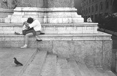 EDOUARD BOUBAT  Les Amoureaux de Bologne, 1987