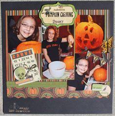 pumpkin carving - Scrapbook.com