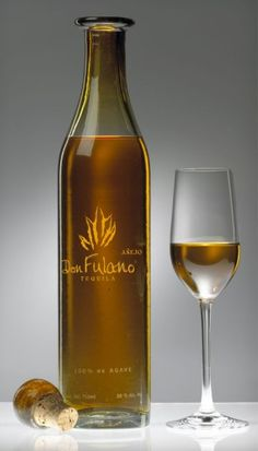 Don Fulano Anejo Tequila. An absoute delight.