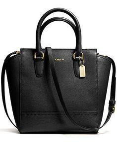 COACH MINI TANNER IN SAFFIANO LEATHER - Handbags  amp  Accessories - Macy s  Cheap Designer Handbags 29ddab5ec9