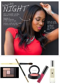 DJ Kiss day-to-night makeup how-to on Nordstrom Beauty Spot