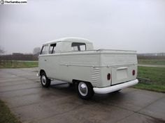 VW Bus Double Cab