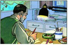 Vittorio Giardino Pax Romana, Working Man, Office Art, Golden Age, Illustrators, Illustration Art, Anime, Globes, Work Hard