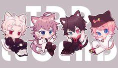 Twitter Bts Chibi, Anime Chibi, Anime Art, Neko, Anime Boy Hair, A Silent Voice, Rap Battle, Kawaii Cute, Manga Drawing