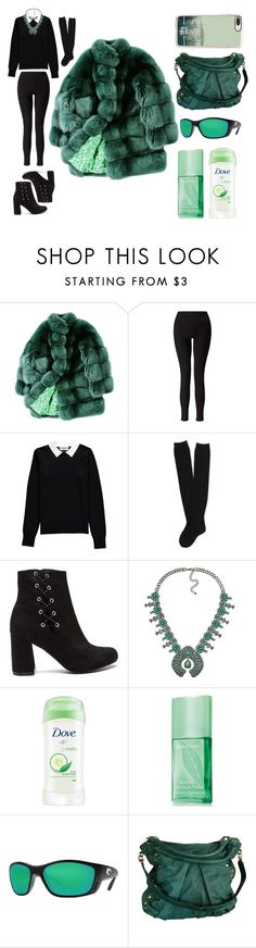"""""""Green thing"""" by rylock ❤ liked on Polyvore featuring ESCADA, Miss Selfridge, Essentiel, Aéropostale, Dove, Elizabeth Arden, Costa, Treesje and Casetify"""