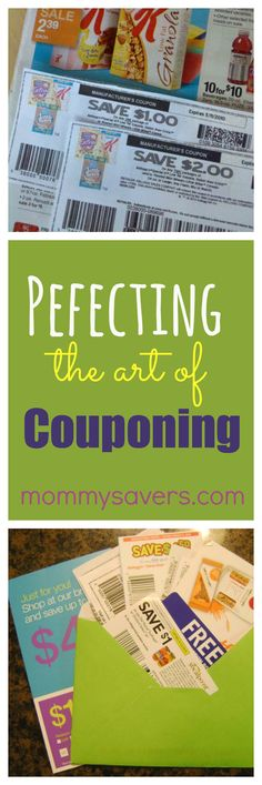 Perfecting the Art of Couponing:  When to use them, how to use them, and when NOT to use them.  #coupons #couponing