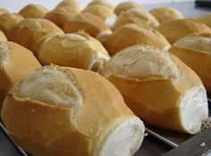 Pão Francês - french bread rolls from Brazil... such a staple, everyone has them for breakfast down there