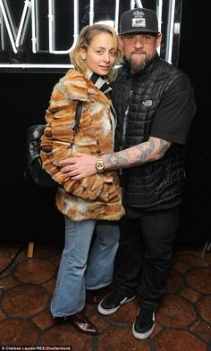 03a6b075d1 Nicole Richie looks stylish as she cosies up to husband Joel Madden