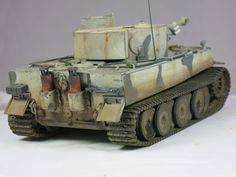 Tamiya Tiger I Russland Winter-Camo 1:48