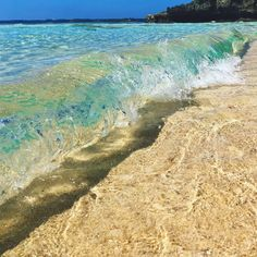 """Sandy beach"" of Miyakojima is the seventh image which was one beautiful sea in Okinawa Beautiful Ocean, Amazing Nature, Beautiful Beaches, Beautiful World, Nature Pictures, Cool Pictures, Cool Photos, Beautiful Pictures, Ocean Beach"