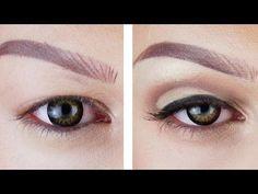 cut crease eyeshadow tutorial for hooded eyes Cut Crease Hooded Eyes, Hooded Eyelids, Droopy Eyelids, Cut Crease Eye, Cut Crease Makeup, Hooded Eye Makeup, Eye Makeup Tips, Smokey Eye Makeup, Makeup Ideas