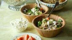 Millet And Quinoa Mediterranean Salad Recipe - Genius Kitchen