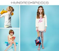 Hundred Pieces : la nouvelle marque de SMALLable - From Kidzcorner
