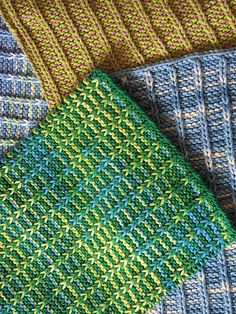 More Baby Genius Burp Cloths by JRoKnits, via Flickr