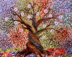 Tree of Light Giclee Print Mosaic Tree of Light Tree of Life Art Mosaic Art Stained Glass Tree Autumn Tree Print Tree Wall Decal Mosaic Wall Art, Mosaic Glass, Glass Art, Fused Glass, Vitromosaico Ideas, Vogel Illustration, Tree Of Life Art, Mosaic Projects, Tree Print