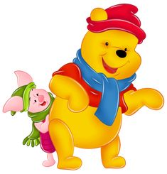 Winnie Pooh And Piglet Disney Winnie The Pooh, Winnie The Pooh Pictures, Winnie The Pooh Christmas, Winne The Pooh, Winnie The Pooh Quotes, Disney Christmas, Baby Disney, Cute Disney Wallpaper, Cute Cartoon Wallpapers