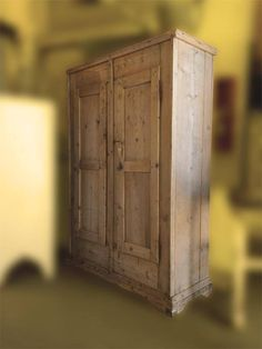Find the rustic charm of this Eastern European Armoire from Old Glory Antiques located at Shops at 9th Avenue.