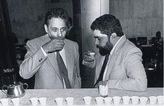 O que dizer desse cafézinho dos amigos Fernando Henrique Cardoso e Lula. | 19 personalidades brasileiras que você não sabia que eram amigas