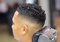 Curly Hair Fade: Best Curly Taper Fade Haircuts For Men Guide) Fade Haircut Curly Hair, Temp Fade Haircut, Taper Fade Haircut, Short Curly Hair, Curly Hair Styles, Thick Hair, Undercut Hairstyles, Down Hairstyles, Trendy Hairstyles