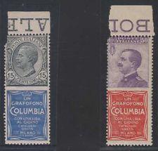 Columbia advertising on sassone 2 & 11