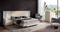 MUEBLES MUÑOZ - dormitorios actuales CATALOGO 5 Bed Furniture, Furniture Design, Camas King, Bedroom Bed Design, Bed Room, Home Decor, Model, Furniture Catalog, Bedroom Layouts