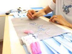 「アトリエ Kirara」札幌の刺繍教室 オートクチュール刺繍 イギリス伝統刺繍 朝日カルチャー講師