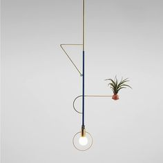 Calder-inspired lights by Jean-Pascal Gauthier