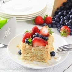Napoleon Cake - Simply Home Cooked