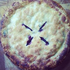 Homemade Fresh Blueberry Pie Recipe