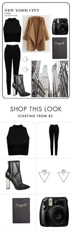 """""""Untitled #92"""" by hailey-aline ❤ liked on Polyvore featuring EAST, Steve Madden, Eloquii, Fujifilm and WithChic"""