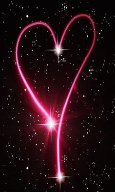 pink heart and stars | View bigger - PINK STAR HEART LIVE WALLPAPER for Android screenshot