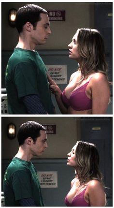 Penny and Sheldon Big Bang Theory Series, Big Bang Theory Penny, Big Bang Theory Quotes, The Big Band Theory, Penny And Sheldon, Soft Kitty Warm Kitty, Jim Parsons, Sometimes I Wonder, Nerd Love