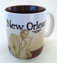 Starbucks New Orleans 2012 City coffee mug