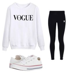 """Untitled #12"" by emma743 on Polyvore featuring adidas Originals and Converse"
