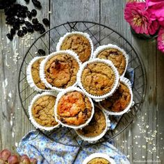 Vegan & Healthy – Page 4 – Let's Treat Ourselves Breakfast Snacks, Healthy Recipes, Healthy Food, Muffins, Banana, Treats, Vegan, Sweet Dreams, Cooking