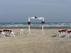 Beach Weddings by Baroque Events Galveston.  www.baroqueeventsgalveston.com