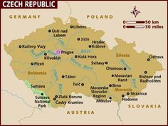 The Czech Republic, is a landlocked country in Central Europe. The country is bordered by Germany to the West, Austria to the South, Slovakia to the east and Poland to the North. Europe Centrale, Prague Czech Republic, Europe Photos, Central Europe, Bratislava, Salzburg, Albania, Budapest, Germany