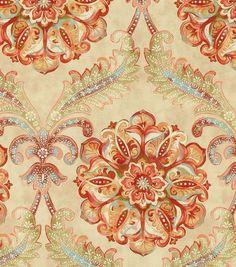 Waverly Upholstery Fabric-Over The Moon/Desert