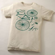 Un t-shirt très vélo ! Créé par #Partybots