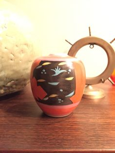 Mid Century Modern Japanese pottery - maker unknown.