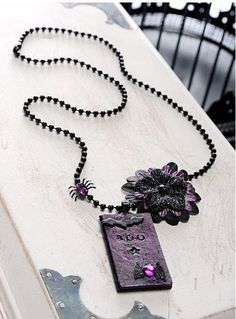 Bootiful Halloween Necklace