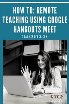 Remote teaching has become essential, the question is how can we do it effectively? Not sure how to use Google hangouts Meet? I've created a simple guide to help you get the most out of distant learning during the COVID-19 shutdown. This a stressful time for all, so I hope this helps! Teaching Tips, Learning Resources, Health Teacher, Teaching Secondary, Student Behavior, Google Hangouts, Instructional Strategies, Online Lessons, Google Classroom