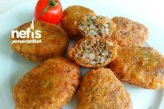 Kadınbudu Meatball – Canan Talay – Delicious Recipes - My CMS Healthy Soup Recipes, Meat Recipes, Delicious Recipes, Turkish Recipes, Ethnic Recipes, Frozen Meals, Meatball Recipes, Snacks, Yummy Cakes