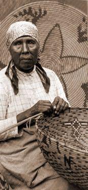Cahuilla basket maker