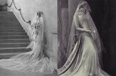 Cornelia Vanderbilt Wedding Day, 1924; 1930s Bride