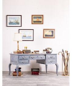 Mesa Escritorio Restaurado London   #mueblesbaratos #mueblesrebajados #muebleseconomicos #sale #rebajas #descuento #decoracion #casa #interior #interiores #design #liquidacion #outled #saldillo #mueblessegundamano #diy #mueblesantiguos #mueblesvintage #mueblesdemadera #mueblesreciclados Home Interior, Office Desk, Interiores Design, Furniture, Home Decor, Ideas, Wooden Pallet Furniture, Recycled Furniture, Home Decorations