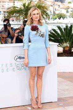 Diane Kruger in a Dolce & Gabbana dress - Cannes Film Festival